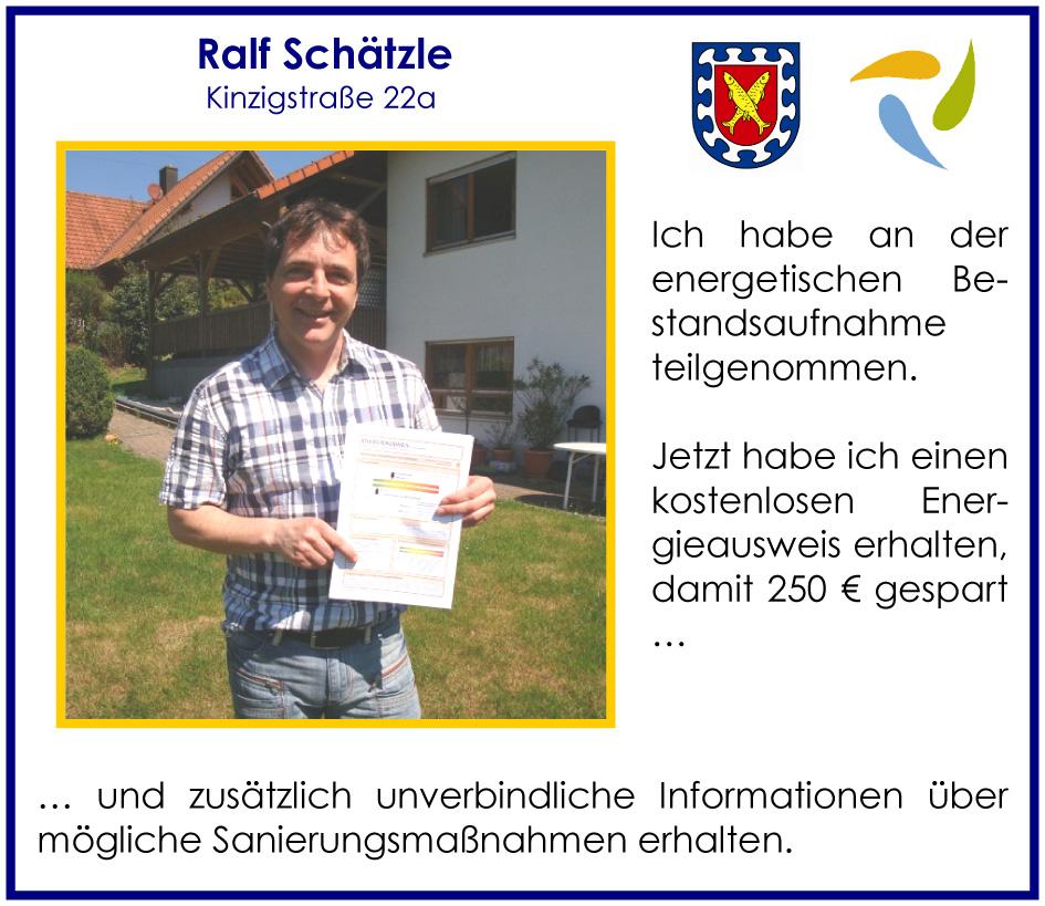 Ralf Schätzle, Kinzigstraße 22 a