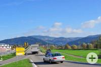 Biberach Blick vom Kreisverkehr