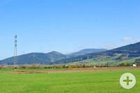 Prinzbach Blick vom Rückhhaltebecken