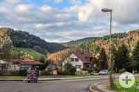 Hausach Blick vom Dorf