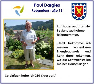 Paul Dargies Bestandsaufnahme