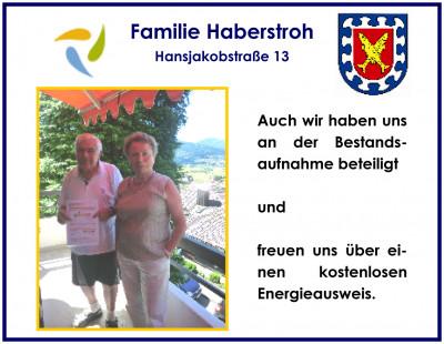 Ehepaar Haberstroh - Haus Luise